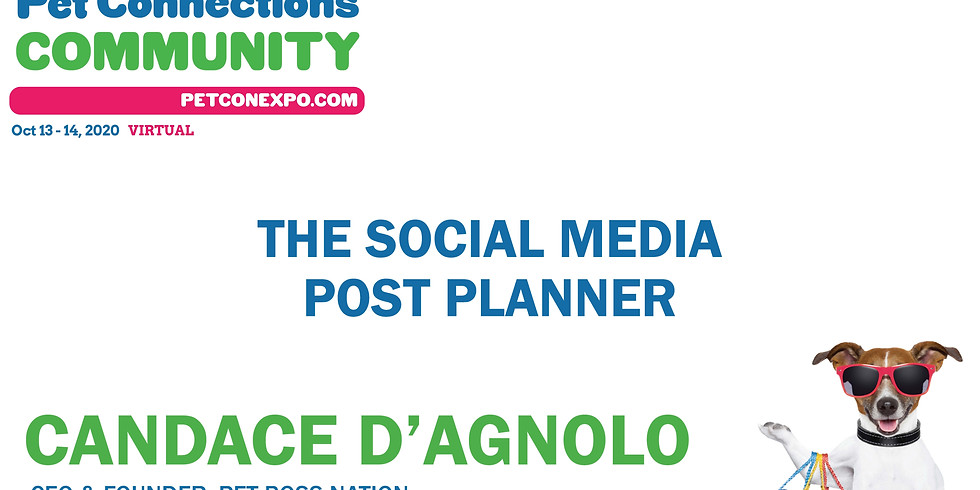 The Social Media Post Planner w/Candace D'Agnolo