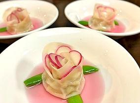 スープ薔薇餃子