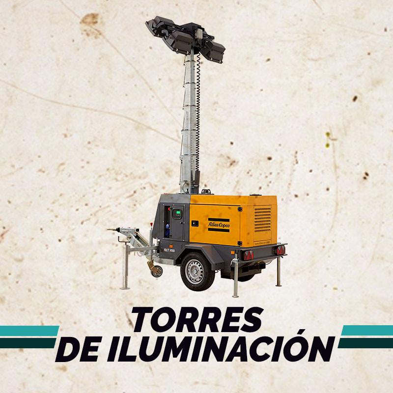 Alquiler de Torres de Iluminación