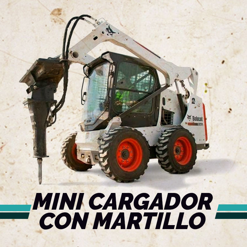Mini Cargador con Martillo en Armenia