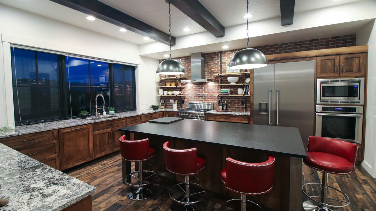 Boise Rim Modern - Kitchen