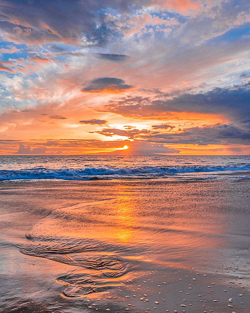 Po'olenalena Beach Sunset