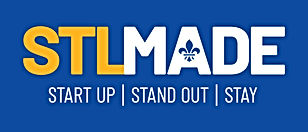 STLMade_Logo_wTagline_Yellow_CMYK_DkBkgd