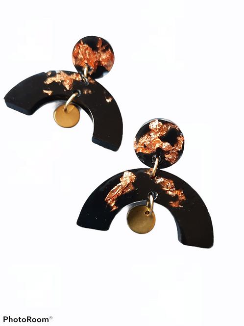 Arch Charm Earrings