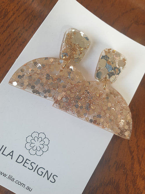 Celia Earrings - Glitter