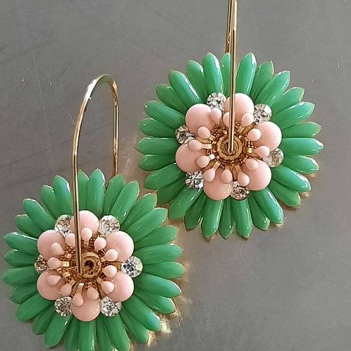 Daisy Floral Hoops