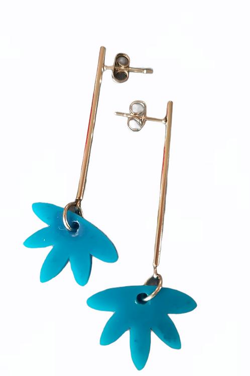 Demi Flower Drop Earrings