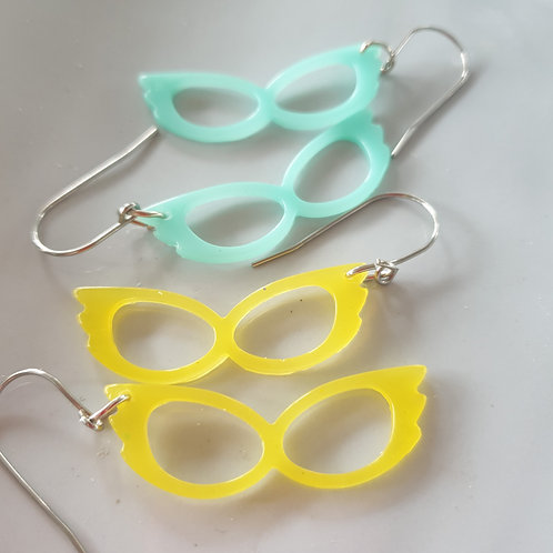 Specs Resin Earrings