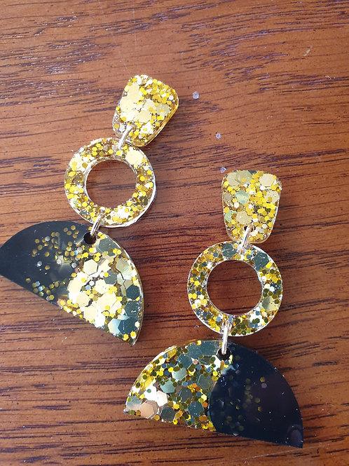 Sonia Circle Earrings