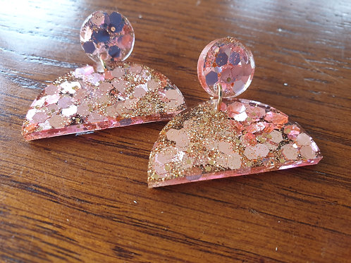 Celia Earrings - Glitter