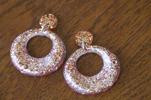 Kerrie Earrings - Glitter