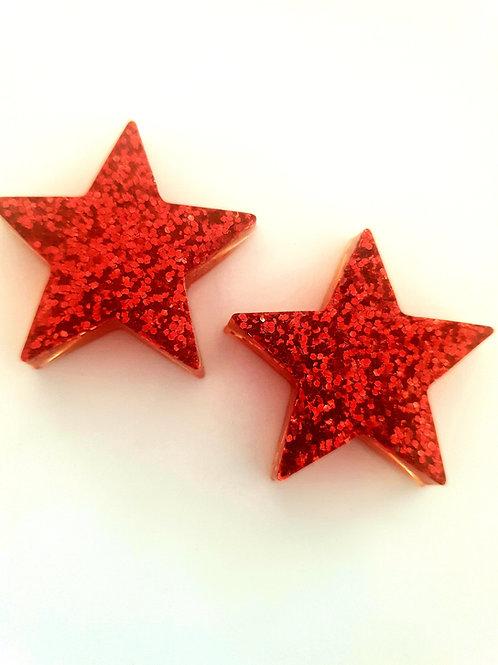 Christmas Star Studs