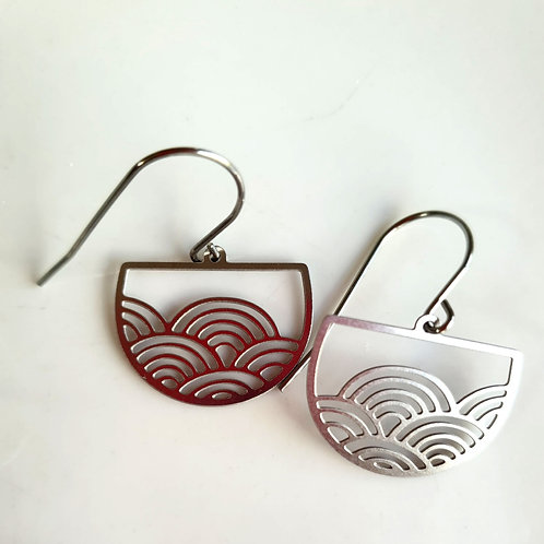 Delicate Stainless Steel Earrings
