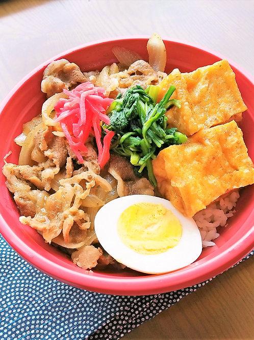 9月12日(木)コクうま!牛すき焼き丼(味噌汁付)