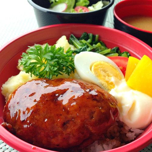 12月19日(木)照りマヨハンバーグ丼(みそ汁付)