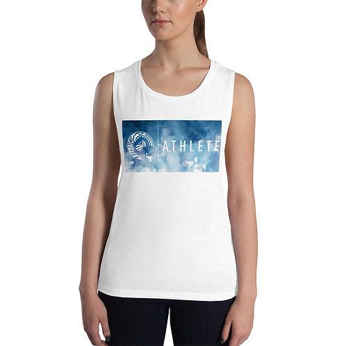 Ladies' Blue Moon Athlete Muscle Tank