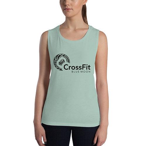 Women's CrossFit Blue Moon Muscle Tank