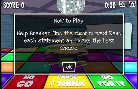 Breaker Digital Footprint Game