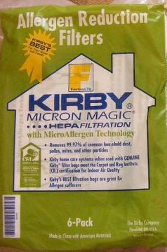 Антиаллергенные мешки Кирби для моделей F