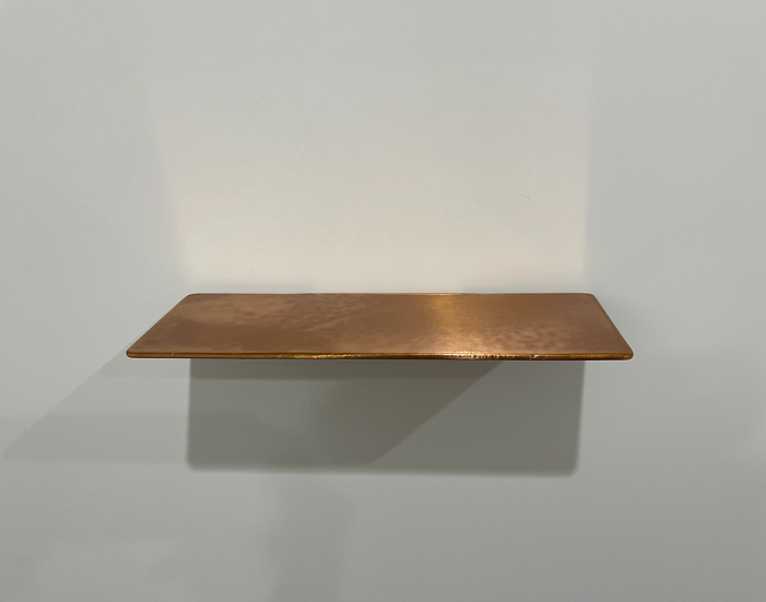 Copper Shower Shelf