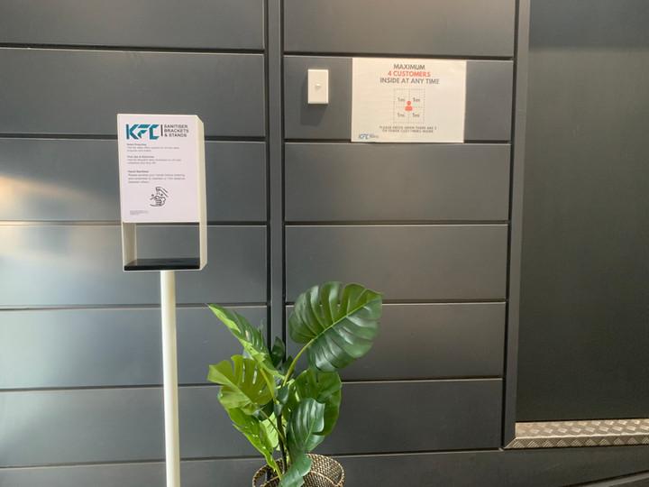 We Sanitise Dispenser Station