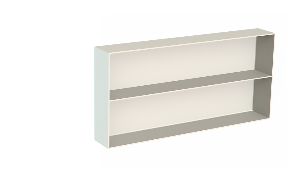 Aluminium Bathroom Niche with Shelf - Powdercoated