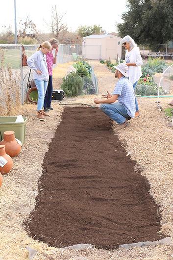 Michael Ismail, Thrive and Grow Gardens, garden education, vegetable gardening