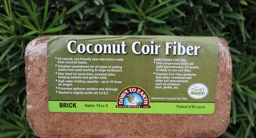 Coconut Coir Fiber | thriveandgrowgardens