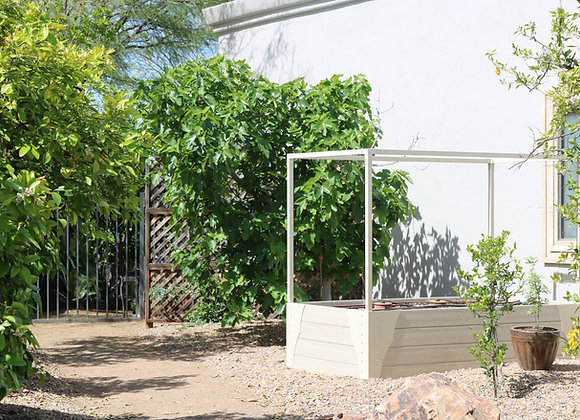 4x8 HDPE Custom Raised Garden Bed
