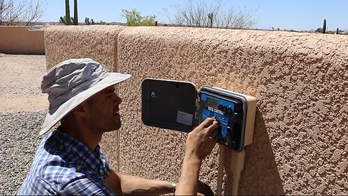 Programming an irrigation controller