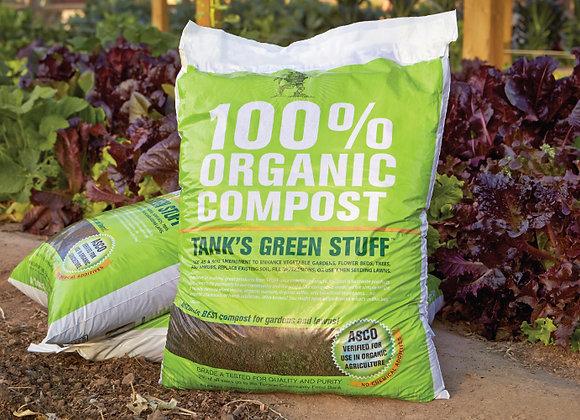 Tank's 100% Organic Compost