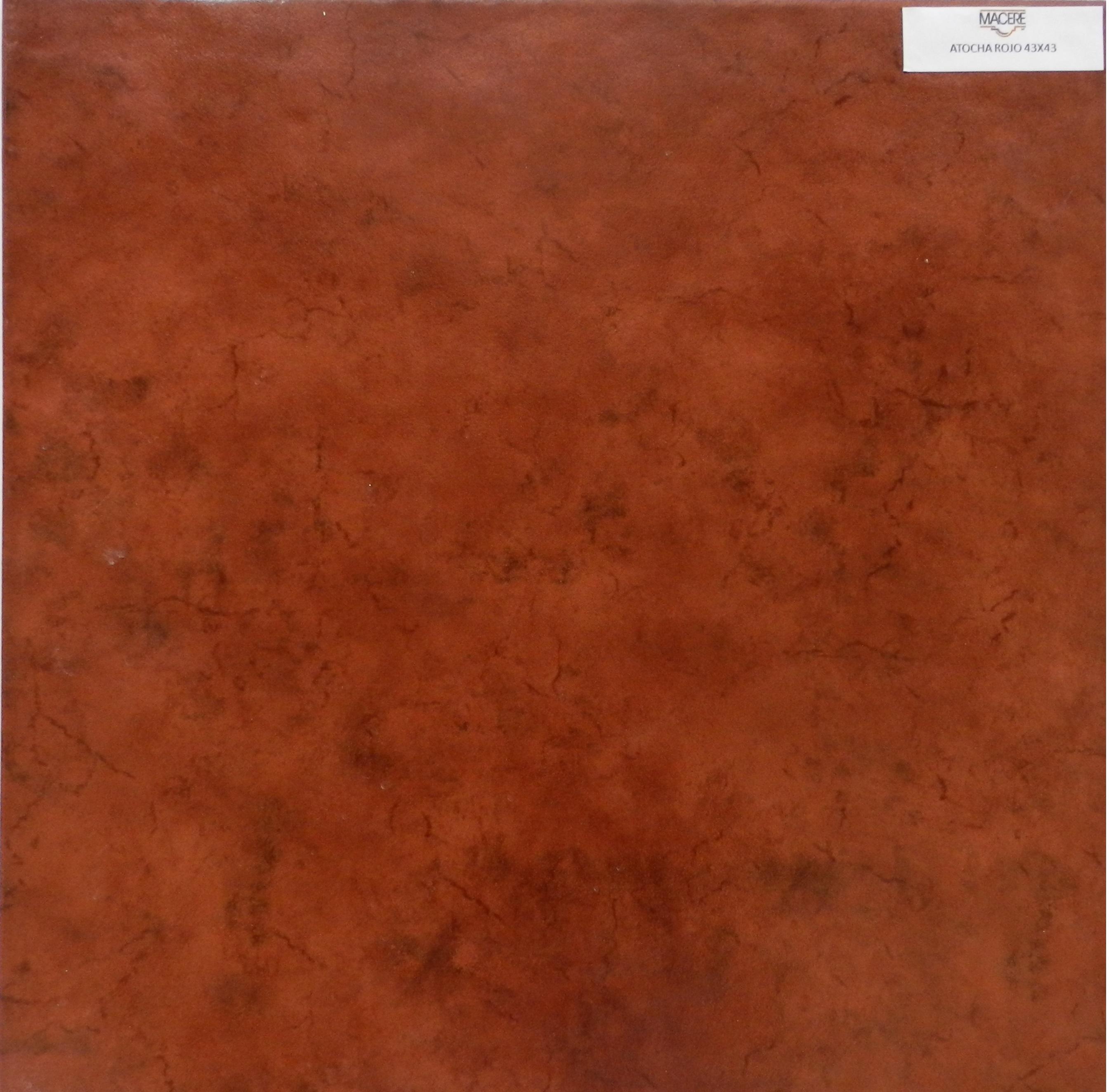 Atocha Rojo 43x43
