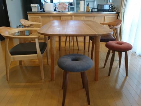 F邸テーブルセットと収納
