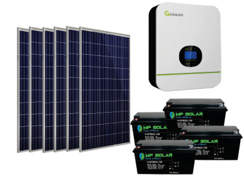 Basic Package -5kW Inverter 9.6kW Power Bank  13.7kW Day PV