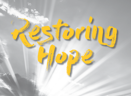 Annual Report: Restoring Hope Through Research, Partnership & Service