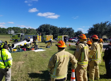 UCF RESTORES Partners with the Florida Firefighters Safety and Health Collaborative