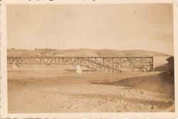 Повреждения моста через р. Кубань