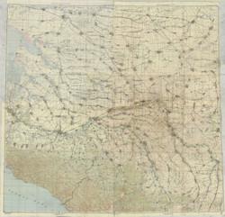 Рабочая карта 5-8 авг. 1942