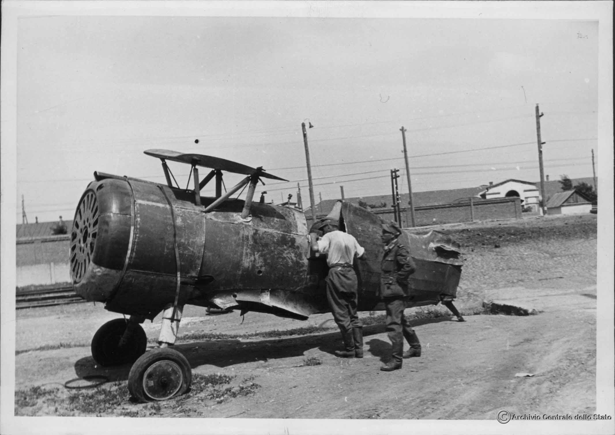 Советский истребитель И-15(бис)