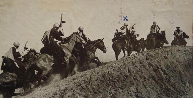 Бойцы 72-й кавалерийской дивизии