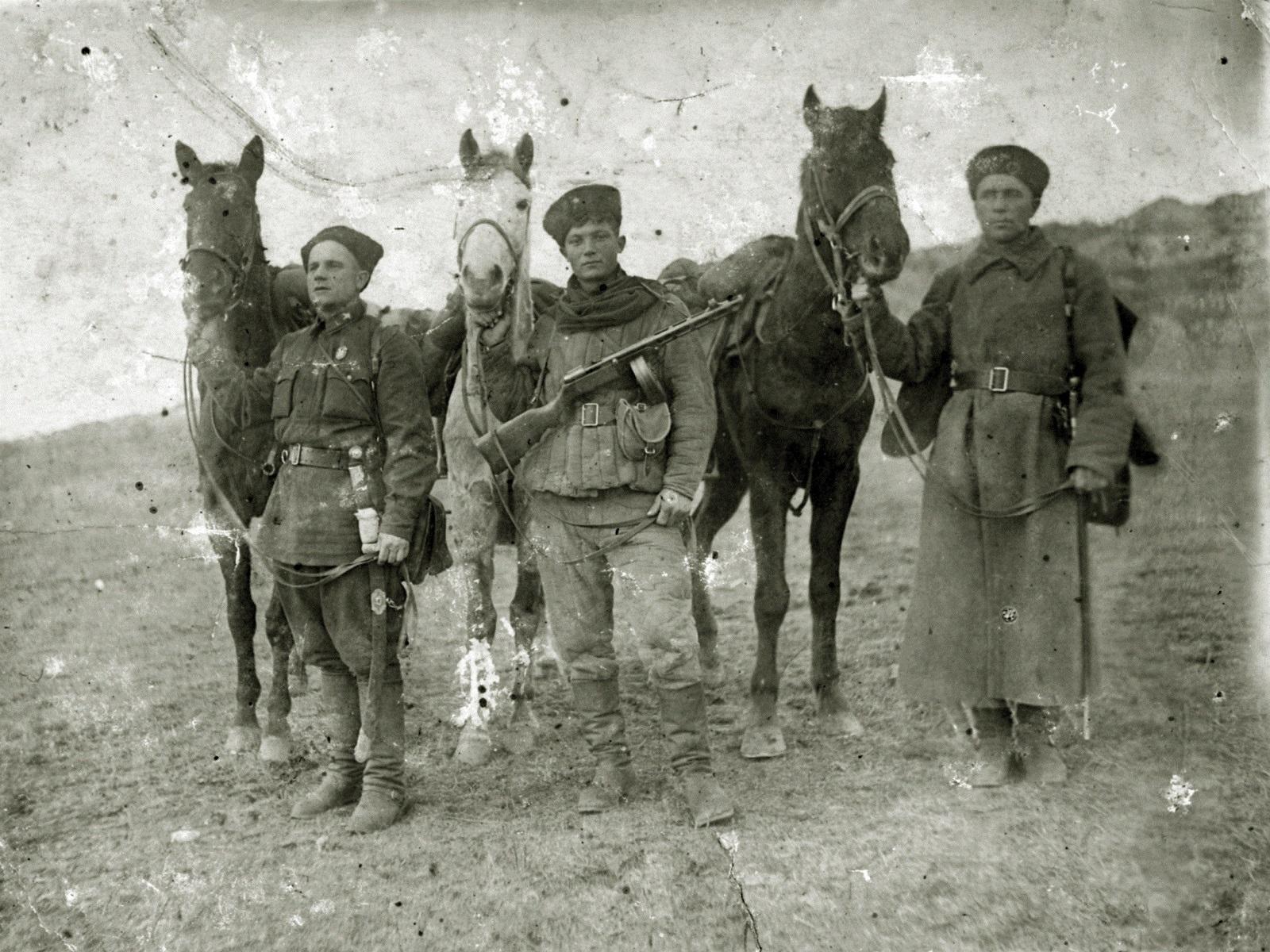 Фото казаков
