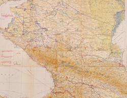 Фрагмент карты ОКХ от 09.08.1942 г