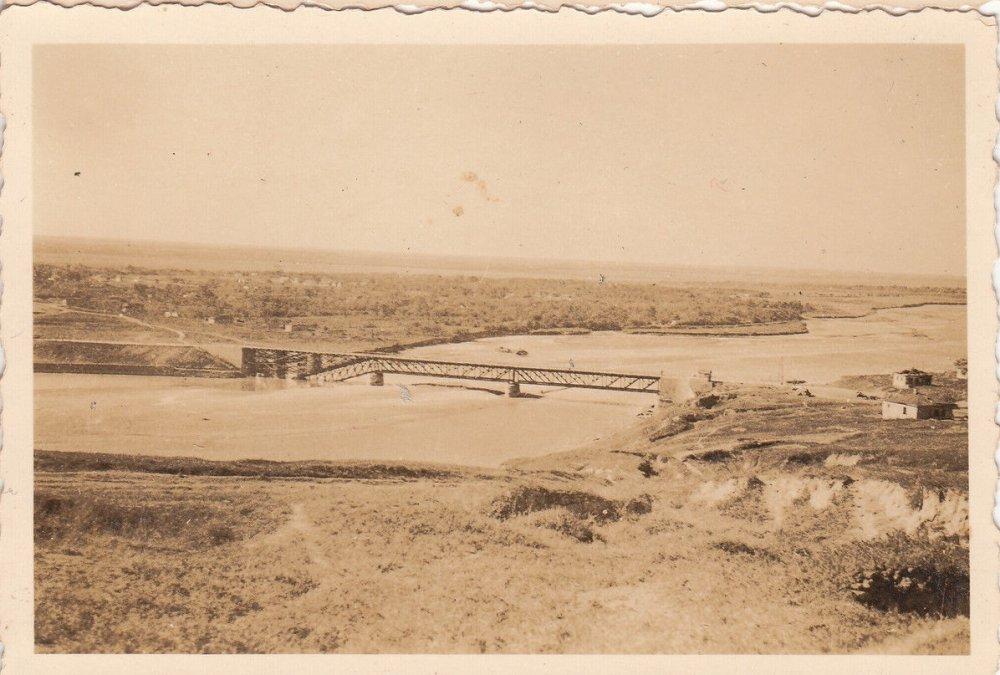 Общий вид на мост через р. Кубань