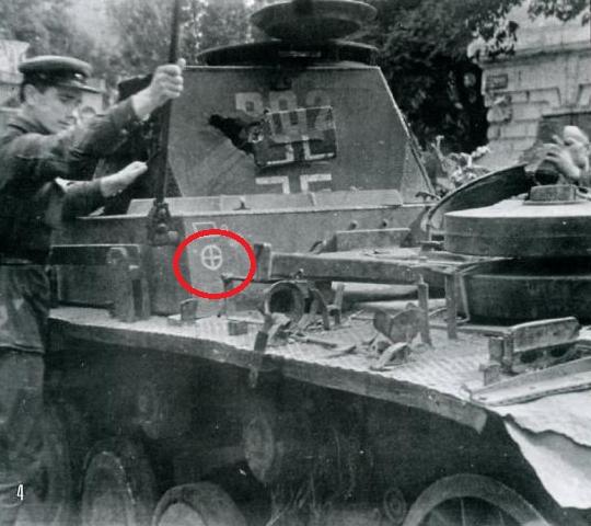 Уничтоженная техника 13 ТД Вермахта