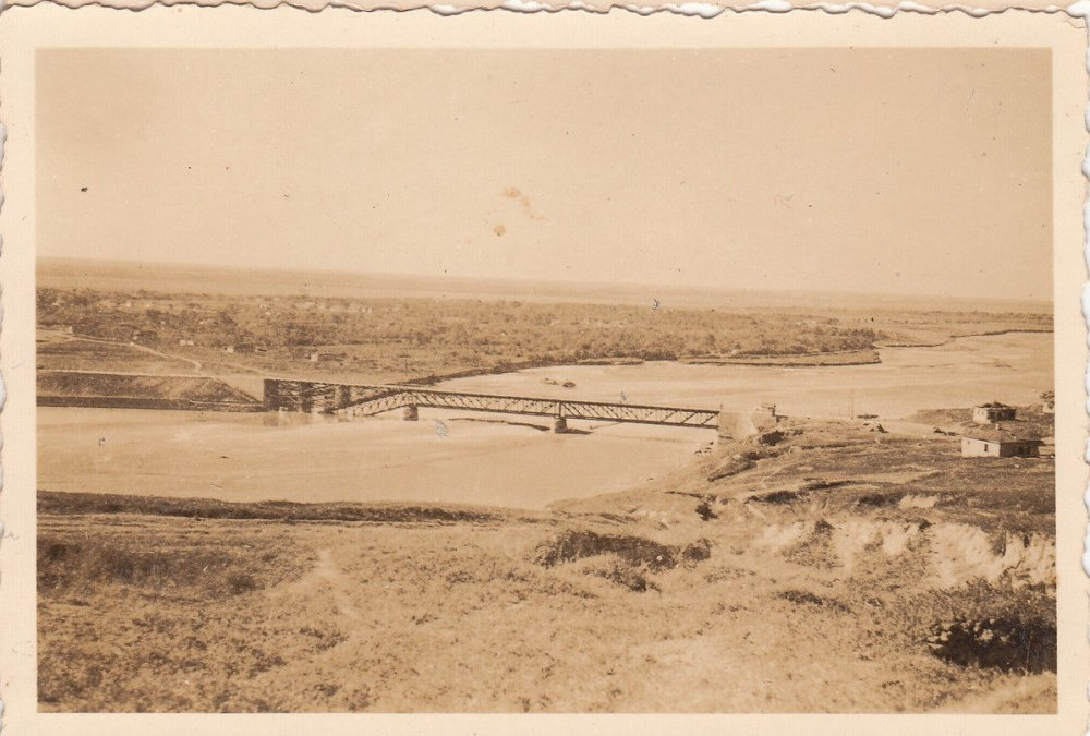Прочноокопский мост вид с Фортштадта