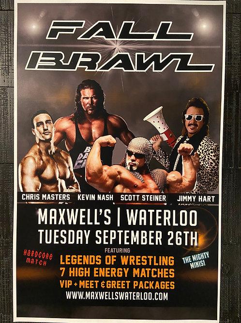 Fall Brawl ft Kevin Nash, Scott Steiner, Jimmy Hart & Chris Masters 2017