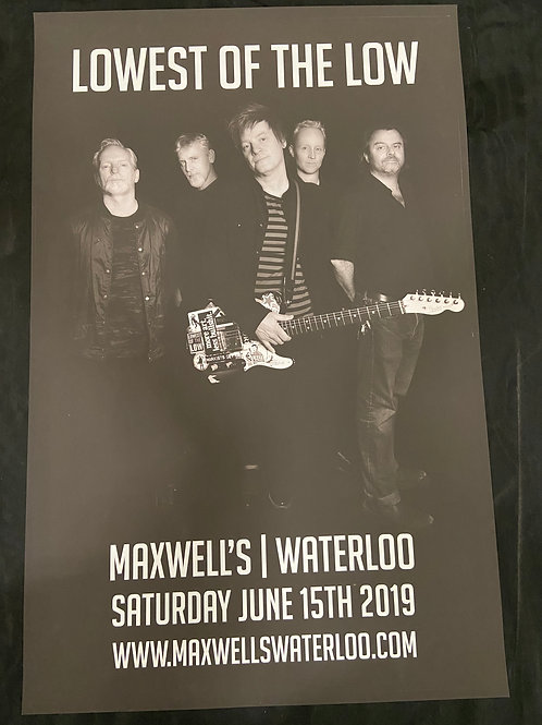 Lowest of the Low 2019 - Large Window Display Poster - Curbside Pickup Only