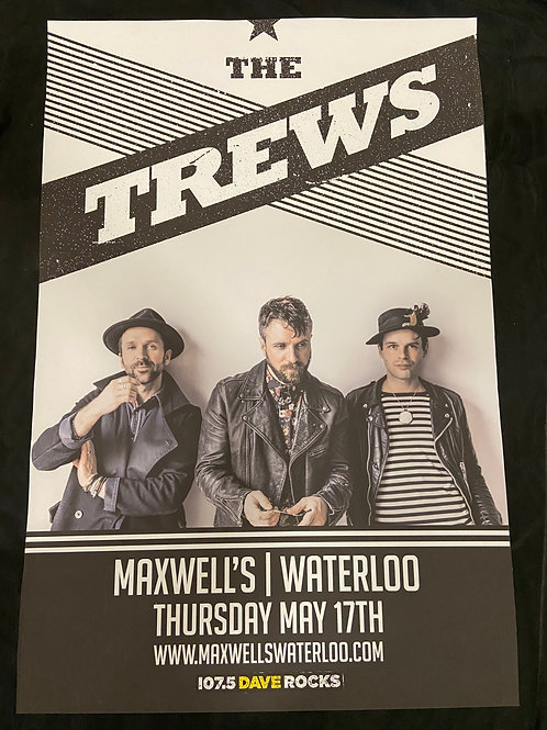 The Trews 2018 - Large Window Display Poster - Curbside Pickup Only