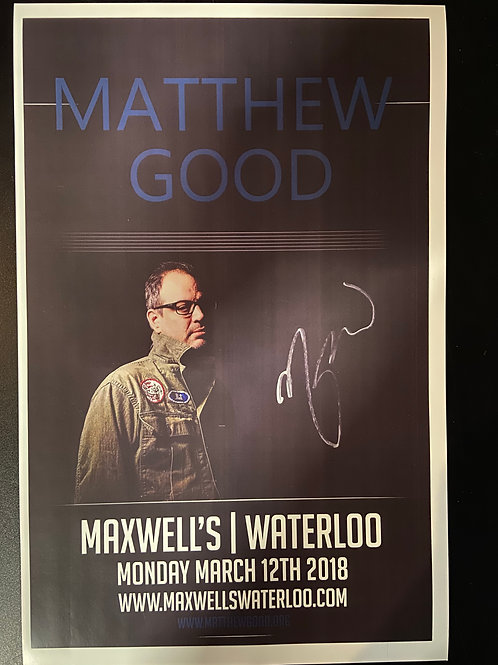 REPLICA - Matthew Good 2018 - Signed
