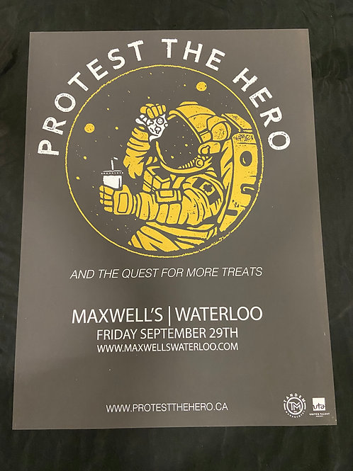Protest the Hero 2017 - Large Window Display Poster - Curbside Pickup Only